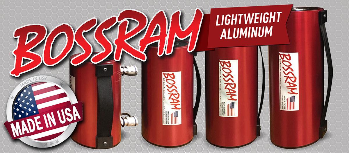 Bossram Lightweight Aluminum Hydraulic Cylinders
